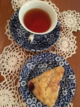 tea and scone
