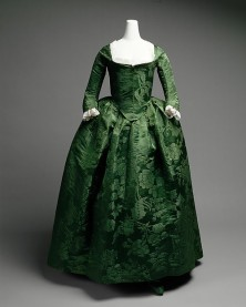 gown 1770s
